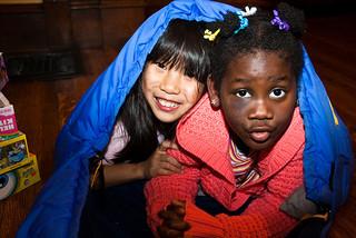 Hüttenschlafsack für Kinder
